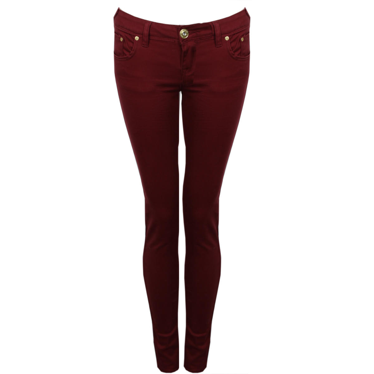 Wine Skinny Jeans Preview